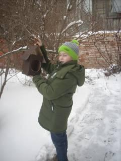 Поможем зимующим птицам!