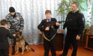 Встреча с сотрудниками полиции