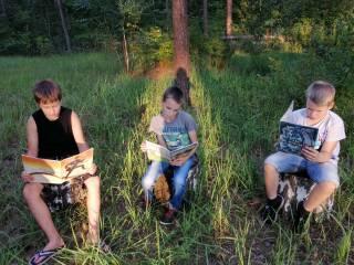 «Летняя фишка – читай с друзьями книжку!»