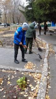 Юнармейцы Сердобского района приняли участие в экологической акции «Чистый город»