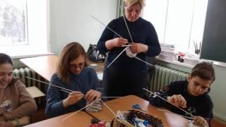 Мастер-класс «Плетение из бумажной лозы»